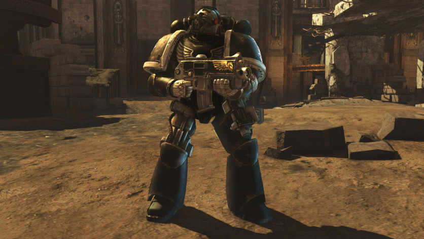 Screenshot 1 - Warhammer 40,000: Space Marine: Iron Hands Chapter Pack
