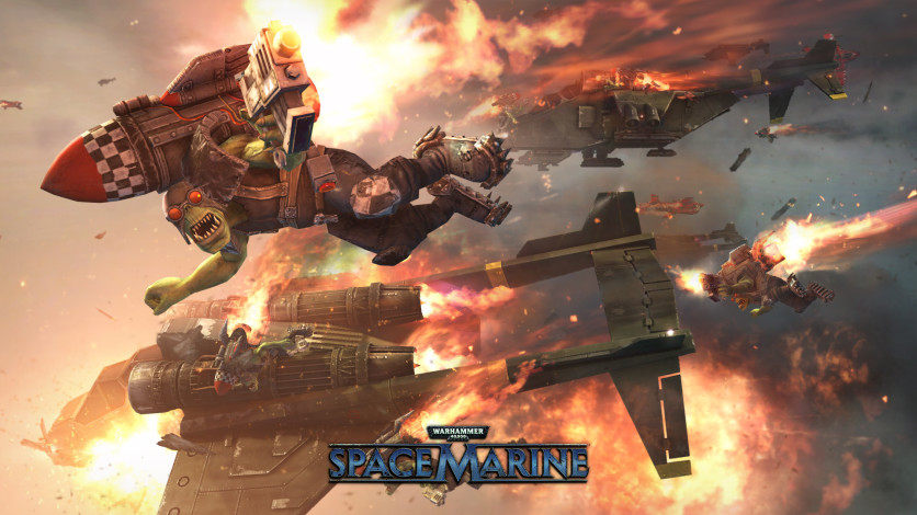 Screenshot 1 - Warhammer 40,000: Space Marine Collection