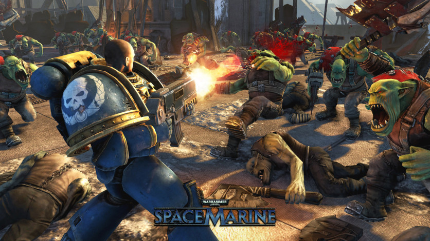 Screenshot 2 - Warhammer 40,000: Space Marine Collection