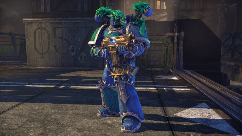 Screenshot 1 - Warhammer 40,000: Space Marine - Alpha Legion Champion Armour Set