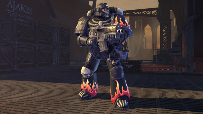 Screenshot 1 - Warhammer 40,000: Space Marine - Legion of the Damned Armour Set