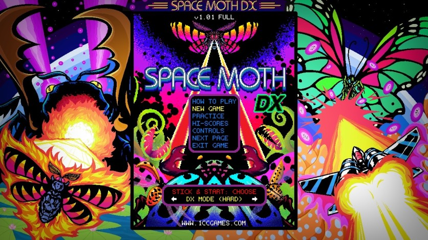 Screenshot 2 - Space Moth DX