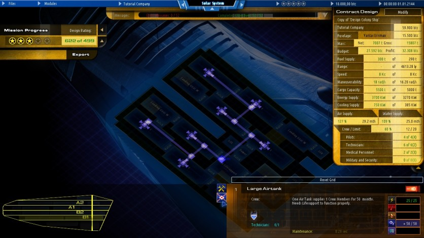 Screenshot 4 - Starship Corporation