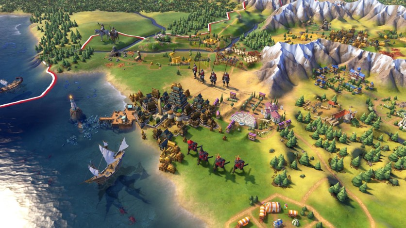 Screenshot 3 - Sid Meier's Civilization VI: Digital Deluxe Edition