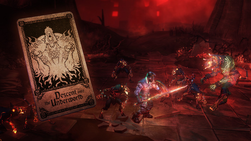 Screenshot 2 - Hand of Fate