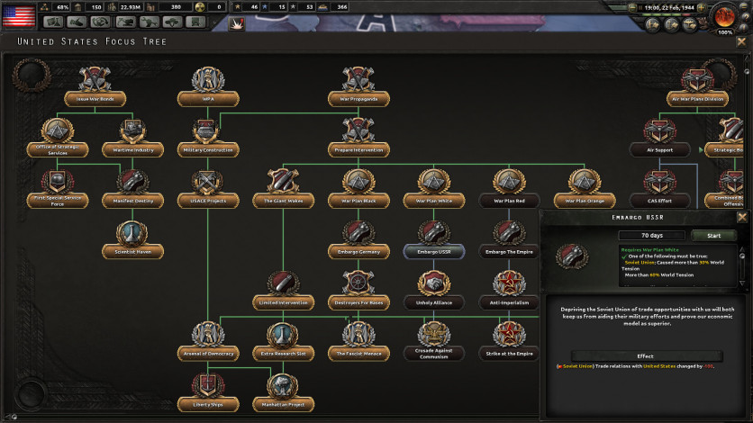 Screenshot 7 - Hearts of Iron IV: Cadet Edition