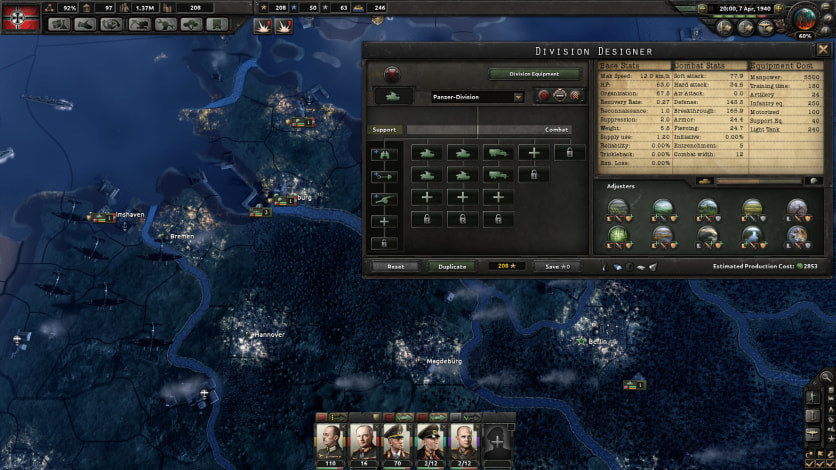Screenshot 3 - Hearts of Iron IV: Colonel Edition