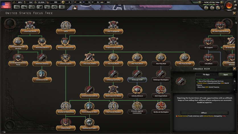 Screenshot 7 - Hearts of Iron IV: Colonel Edition