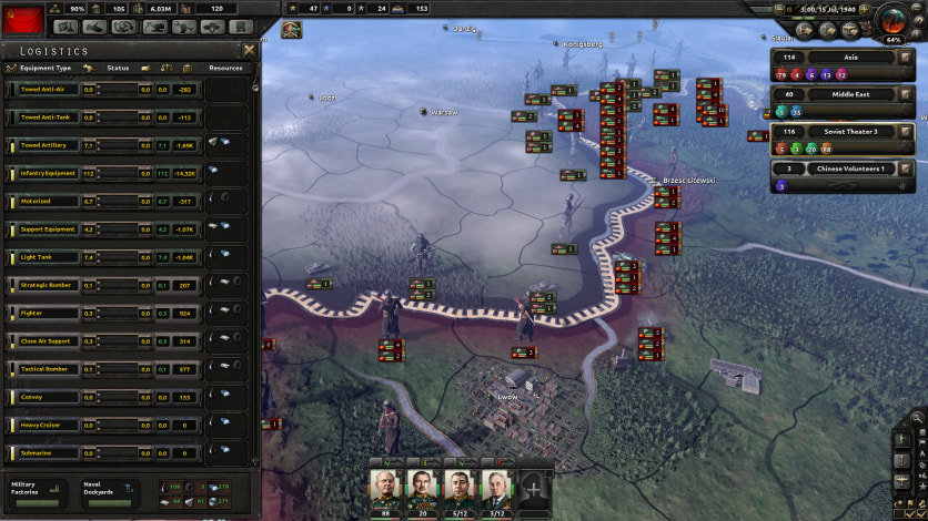 Screenshot 8 - Hearts of Iron IV: Colonel Edition