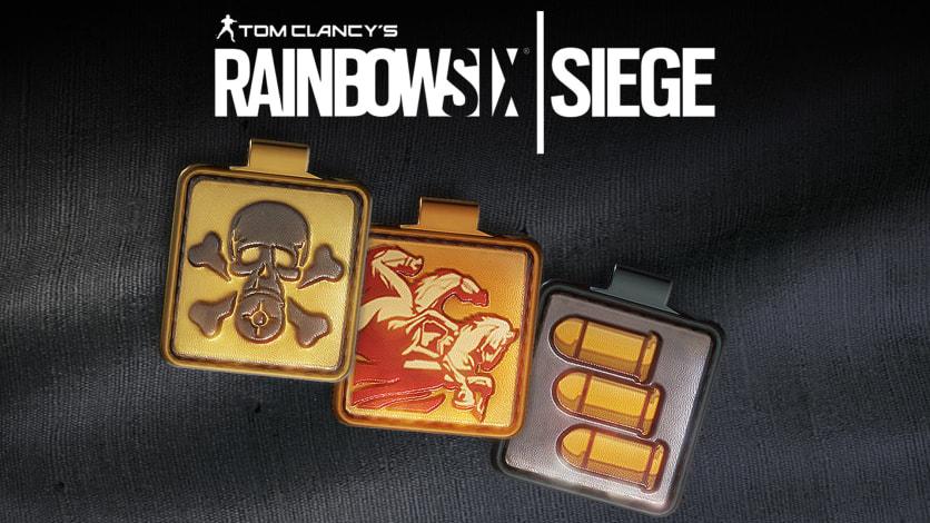 Screenshot 1 - Tom Clancy's Rainbow Six - SIEGE: Ops Icon Charm Bundle