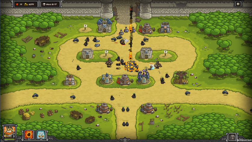 Screenshot 4 - Kingdom Rush