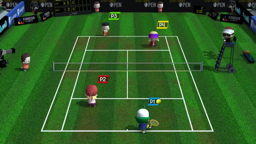 Screenshot 2 - Smoots World Cup Tennis