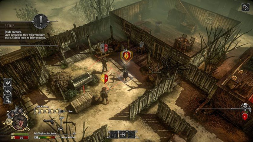 Screenshot 10 - Hard West - Collector's Edition