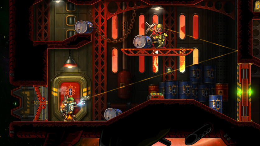 Screenshot 2 - Steamworld Heist