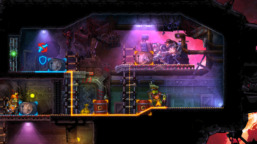 Screenshot 3 - Steamworld Heist