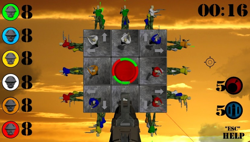 Screenshot 5 - WAR CUBE