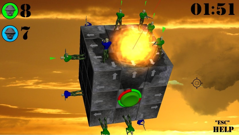 Screenshot 3 - WAR CUBE