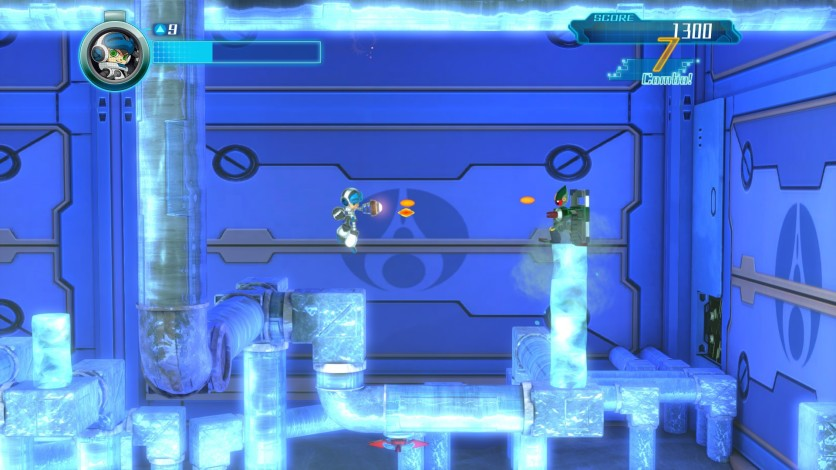 Screenshot 1 - Mighty No. 9 - Ray Expansion