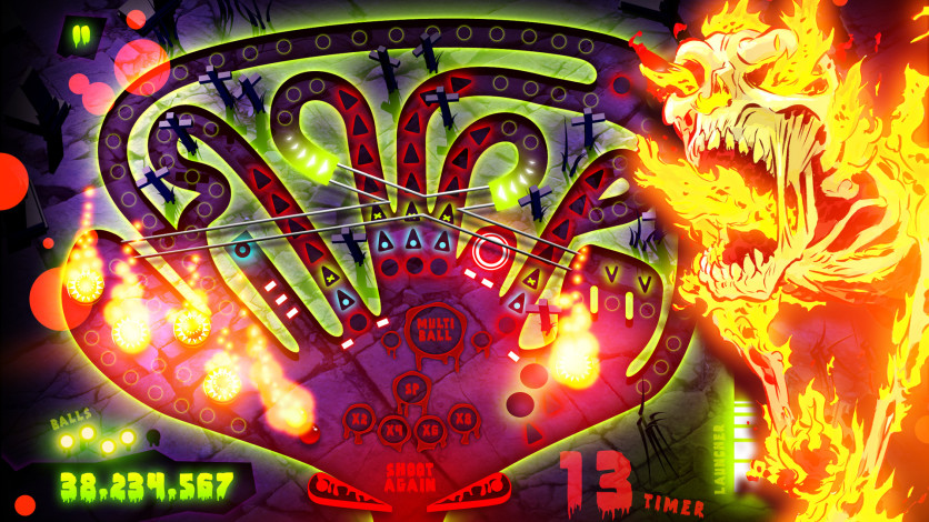 Screenshot 3 - Zombie Pinball