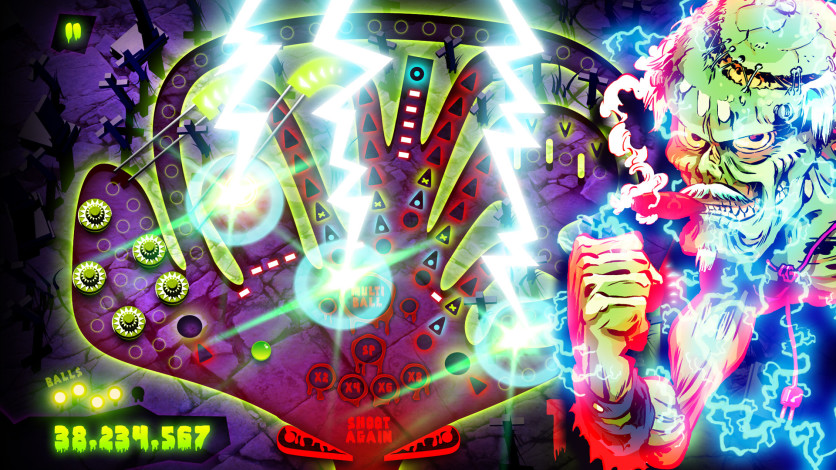 Screenshot 4 - Zombie Pinball