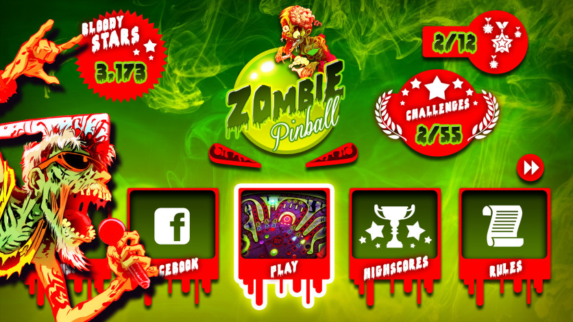 Screenshot 2 - Zombie Pinball