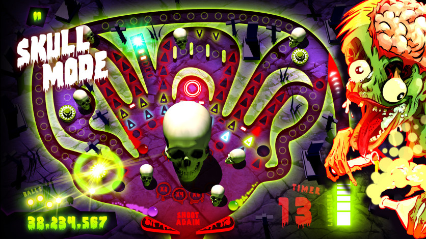 Screenshot 7 - Zombie Pinball