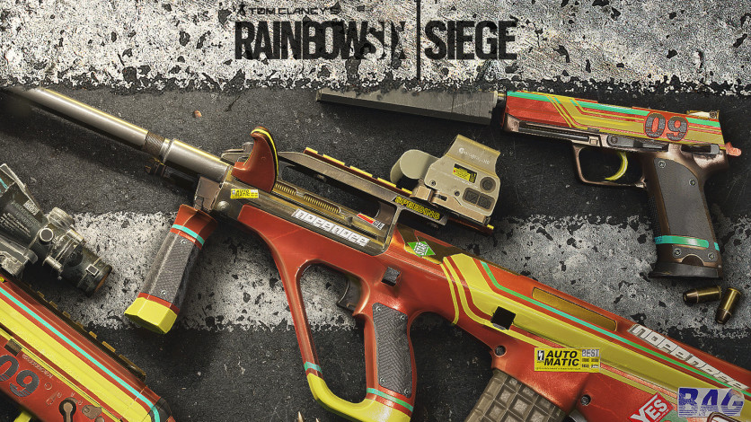 Screenshot 1 - Tom Clancy's Rainbow Six - SIEGE: Racer GSG 9 Pack