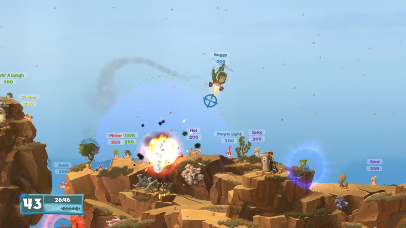 Screenshot 7 - Worms W.M.D