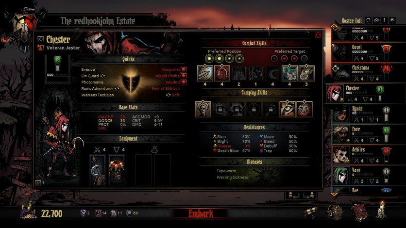 Screenshot 4 - Darkest Dungeon