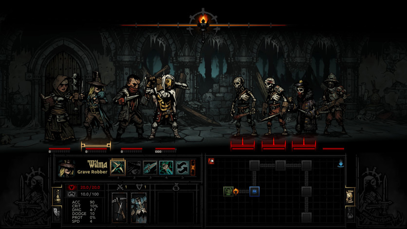 Screenshot 2 - Darkest Dungeon
