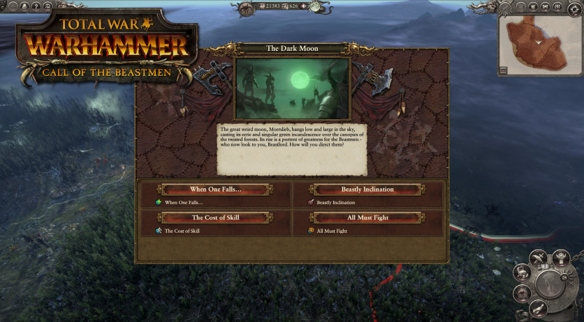 Screenshot 3 - Total War: WARHAMMER - Call of the Beastmen