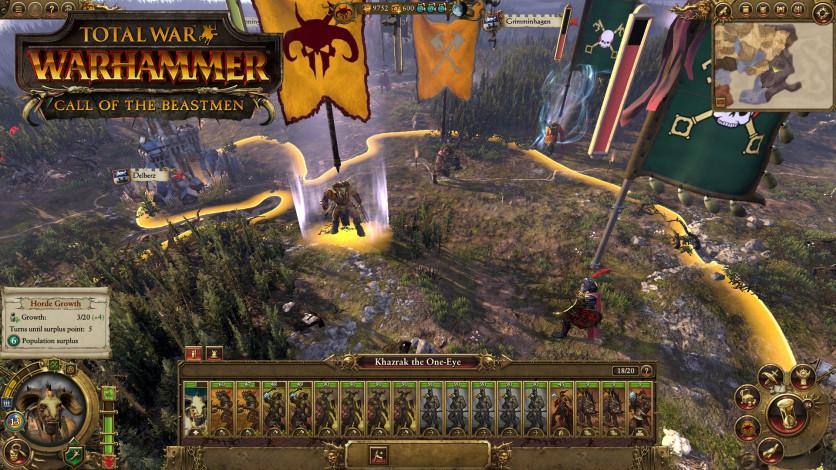 Screenshot 2 - Total War: WARHAMMER - Call of the Beastmen