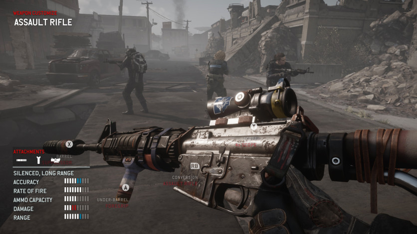 Screenshot 2 - Homefront: The Revolution - The Wing Skull Pack