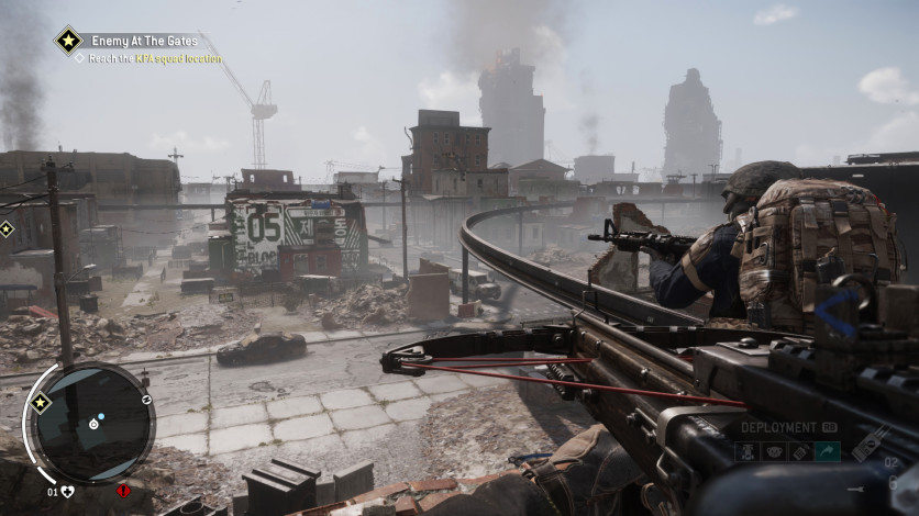 Screenshot 3 - Homefront: The Revolution - The Wing Skull Pack