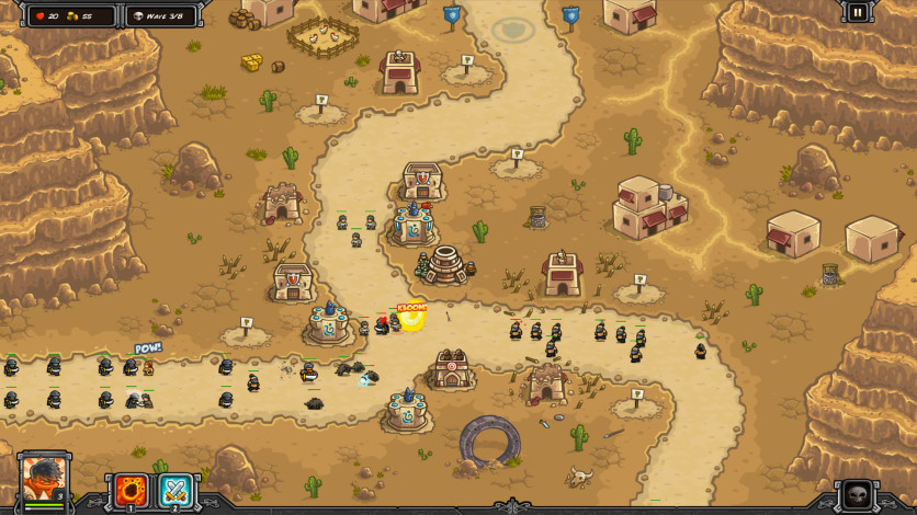 Screenshot 3 - Kingdom Rush Frontiers