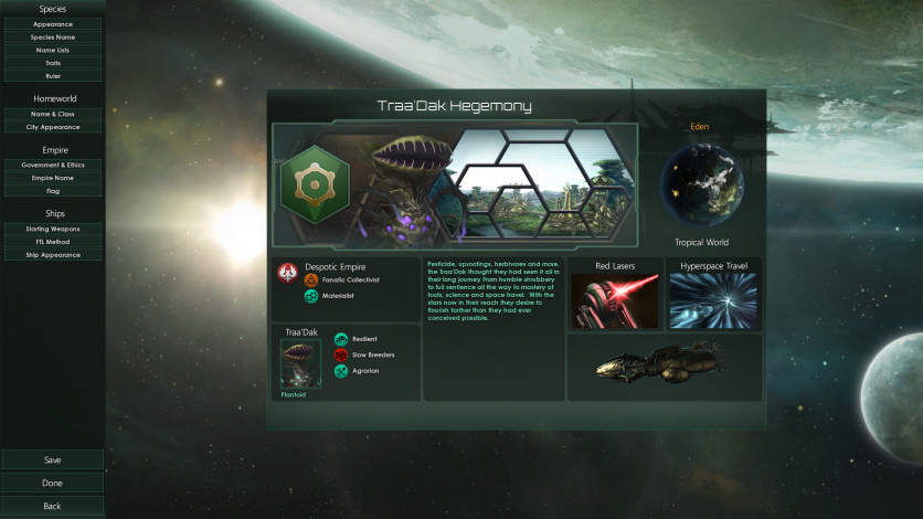 Screenshot 2 - Stellaris: Plantoids Species Pack