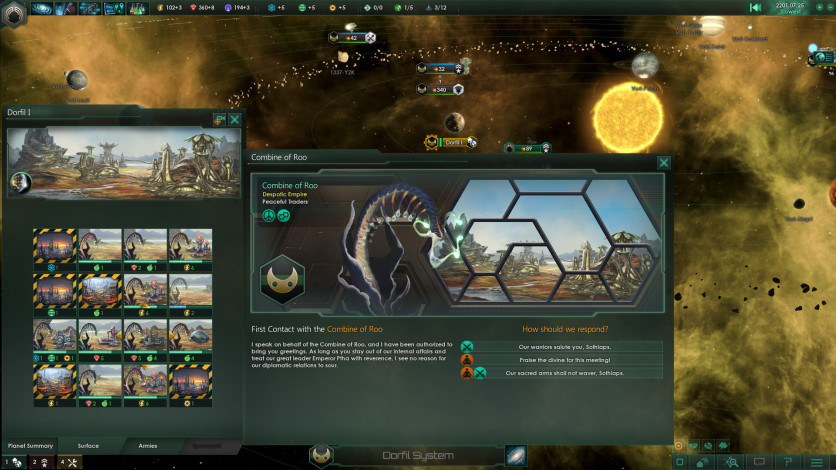 Screenshot 6 - Stellaris: Plantoids Species Pack