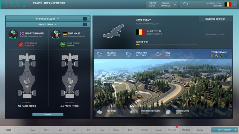 Screenshot 4 - Motorsport Manager