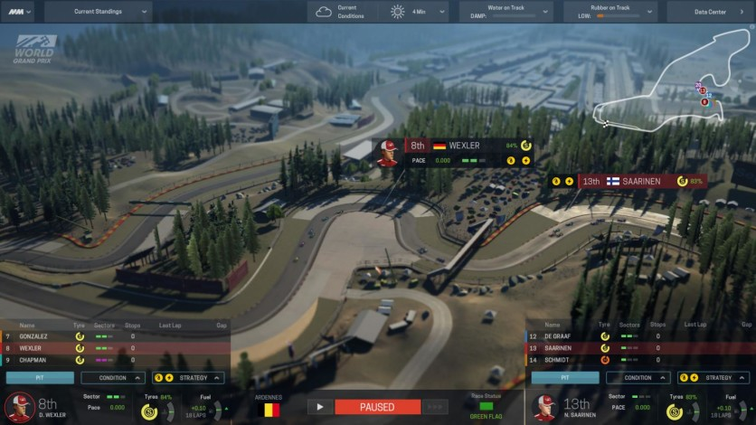 Screenshot 2 - Motorsport Manager