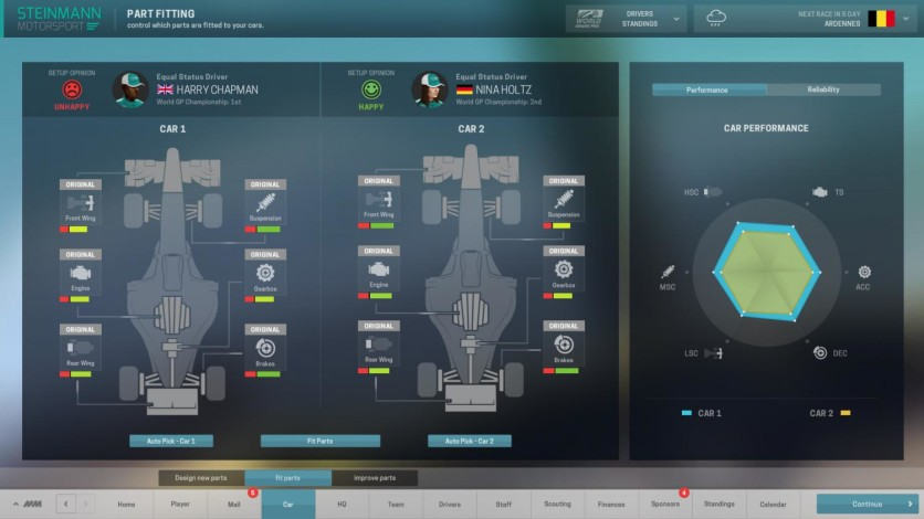 Screenshot 3 - Motorsport Manager