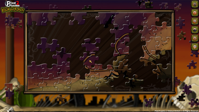 Screenshot 4 - Pixel Puzzles 2: RADical ROACH