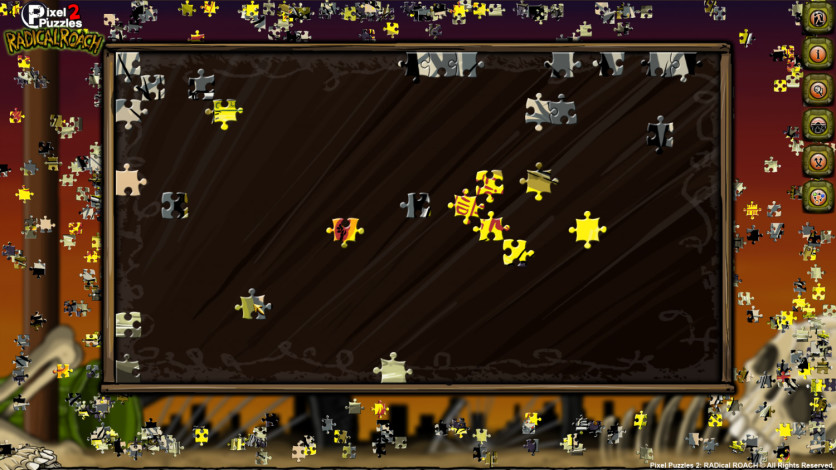 Screenshot 6 - Pixel Puzzles 2: RADical ROACH