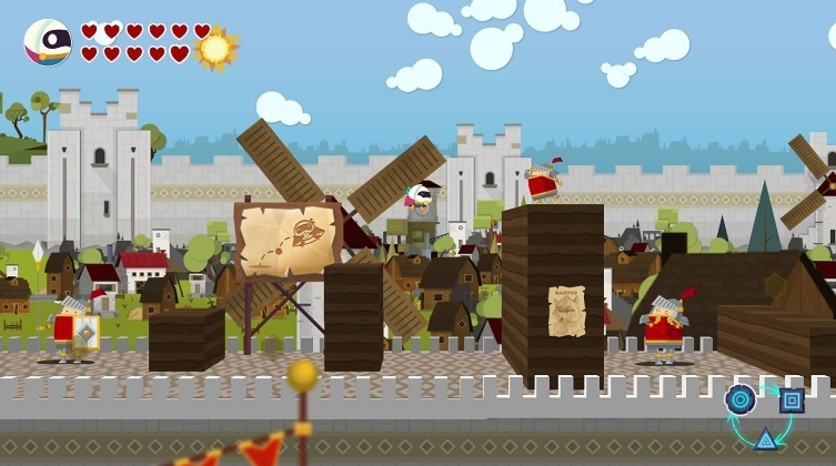 Screenshot 3 - Flat Kingdom - Paper's Cut Edition