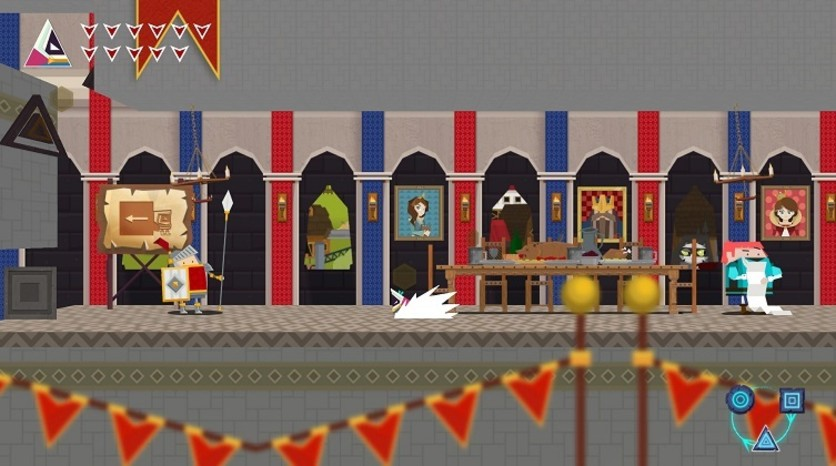 Screenshot 4 - Flat Kingdom - Paper's Cut Edition
