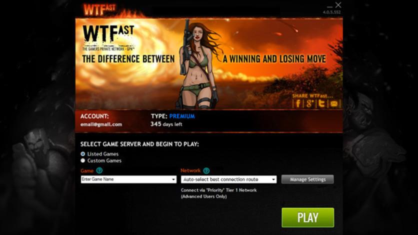 Screenshot 6 - WTFast Advanced - 6 Months