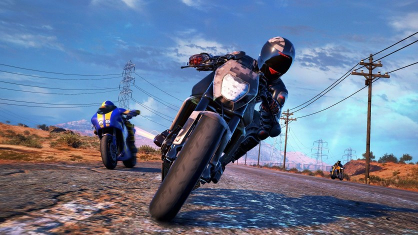 Screenshot 2 - MotoRacer 4 - Deluxe Edition