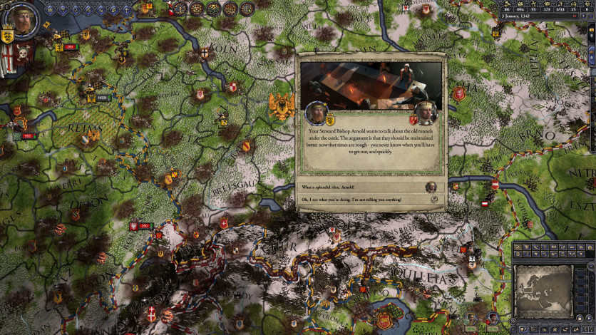 Screenshot 3 - Crusader Kings II: The Reaper's Due