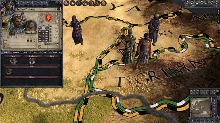 Screenshot 2 - Crusader Kings II: The Reaper's Due Content Pack