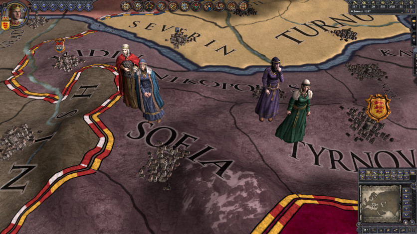 Screenshot 1 - Crusader Kings II: The Reaper's Due Content Pack