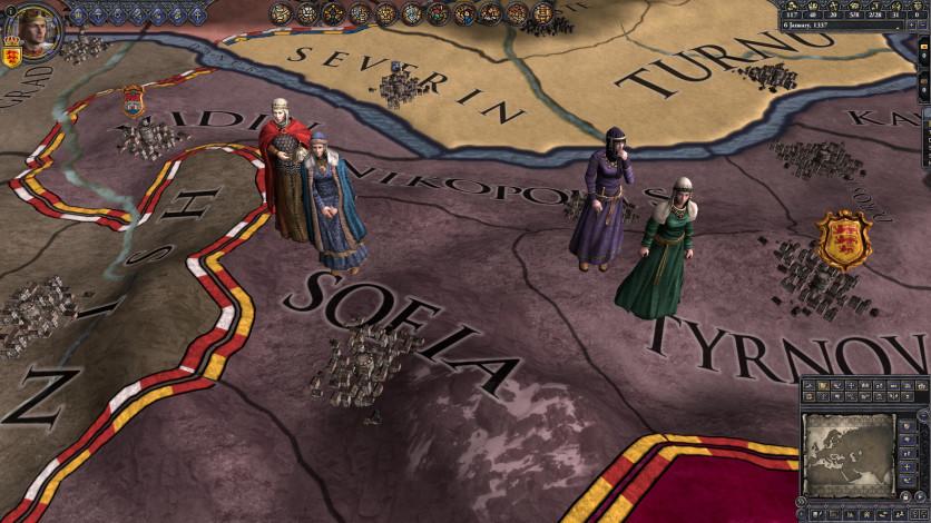 Screenshot 1 - Crusader Kings II: The Reaper's Due Content Pack